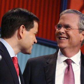 Bush, Rubio start October with about $10 millioneach