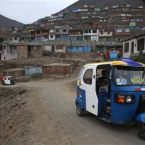 At 'home' in Peru, World Bank chief unfazed by slowergrowth