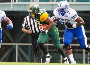 King named MEAC Co-Defensive Player of the Week