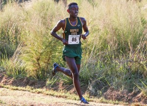 NSU Men's Cross Country finishes 2nd for 2nd consecutive meet (photo courtesy of NSUSpartans.com)