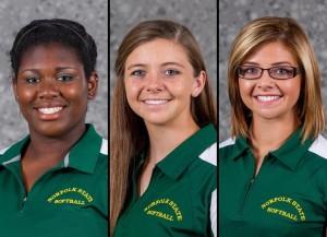3 Spartans named to NFCA All-America Scholar Athlete Team (photo courtesy of NSUSpartans.com)
