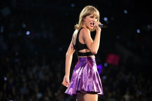 "FILE - In this Aug. 22, 2015, file photo, Taylor Swift performs during the ""1989"" world tour at Staples Center in Los Angeles. Swift filed a counterclaim Wednesday, Oct. 28, 2015, against a former Denver radio host who sued her after he said he lost his job because of false accusations that he inappropriately touched her during a photo session. (Photo by Matt Sayles/Invision/AP, File)"