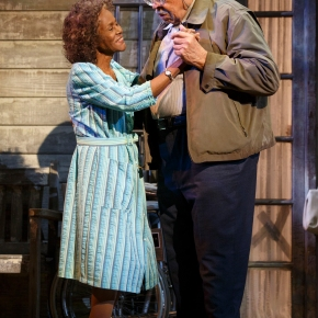 Review: James Earl Jones, Cicely Tyson risk it in 'Gin Game'