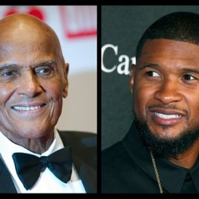 Usher and Harry Belafonte talk activism in joint appearance