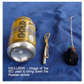 IS releases photo of bomb it says downed Russian jetliner