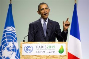 Obama: Climate pact an 'act of defiance' after Parisattacks