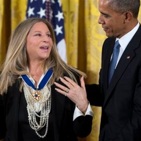 Obama honoring Streisand, Spielberg, Yogi Berra and more