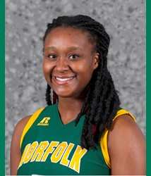 NSU Lady Spartan Amber Brown leaves hospital