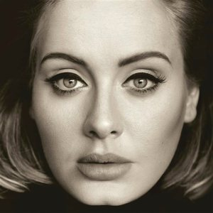 """This CD cover image released by Columbia Records shows, """"25,"""" the latest release by Adele. The singer's hotly anticipated album is out Friday, Nov. 20, 2015. (Columbia Records via AP)"""