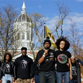 U. of Missouri president, chancellor leave over race tension