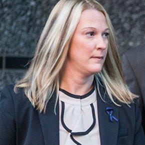 Cop accused of shooting man in back goes on trial formurder