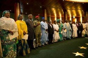 Nigerian Cabinet sworn in, viewed as strategicallychosen