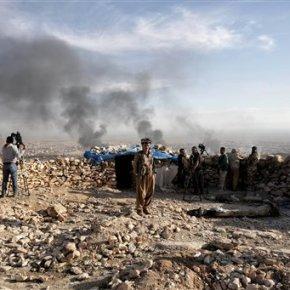 Amid offensive, Iraqi Kurds cut Islamic State supplyline