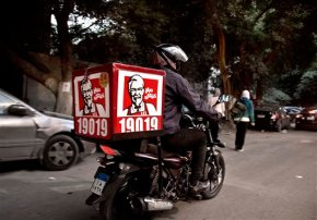 KFC to deliver buckets of fried chicken ondemand