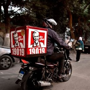 KFC to deliver buckets of fried chicken on demand