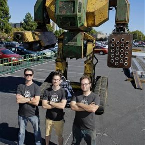US startup challenges Japan to giant robotbattle