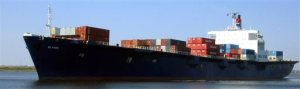 This undated photo provided by TOTE Maritime shows the cargo ship, El Faro. On Saturday, Oct. 31, 2015, the U.S. National Transportation Safety Board said a search team using sophisticated scanning sonar has found the wreckage of a vessel believed to be the ship which went missing with 33 crewmembers on Oct. 1 during Hurricane Joaquin. (TOTE Maritime via AP)