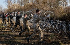 EU free travel in danger as borders tighten, fences goup
