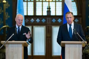 Russia calls for a new Syrian constitution in 18months