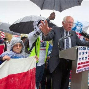Postal workers' union endorses Bernie Sanders for president