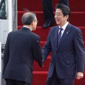 Leaders of S. Korea, Japan and China set for rare summit