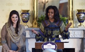First lady brings 'Great White Way' to WhiteHouse