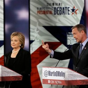 Debate Takeaways: Somber on Paris, disputes over Wall Street