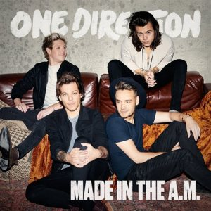 """This CD cover image released by Syco shows """"Made in the A.M."""" a new release by One Direction. (Syco via AP)"""