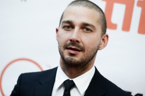 Fans wait and wait to see LaBeouf watch his own movies