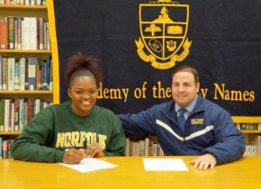 New York Prep Standout De'Janaire Deas Signs with NSU Women'sBasketball