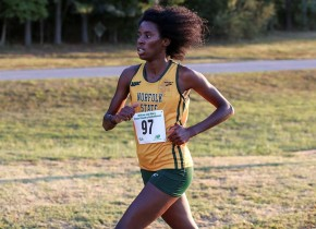 Webb Posts PR, Places 7th at MEAC XC Championships
