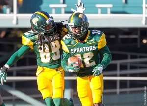 4th Quarter Rally Lifts SCSU Past NSU, 17-10 (Photo courtesy of NSUSpartans.com)