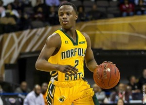 South Carolina defeats NSU in season opener, 84-69 (photo courtesy of NSUSpartans.com)