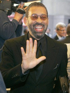 "FILE - In this April 7, 2005 file photo, Maurice Hines poses for a photo as he arrives for the opening night of ""On Golden Pond""in New York. Hines' ""Maurice Hines: Tappin' Thru Life,"" a song and dance revue backed by the Diva Jazz Orchestra, will play New World Stages in New York starting Dec. 23, 2015. (AP Photo/Frank Franklin II, File)"
