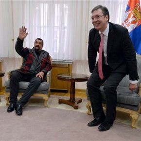 Serbs to Steven Seagal: Don't bash us, train us