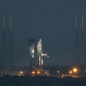 Bad weather delays US space station shipment, 1st in months