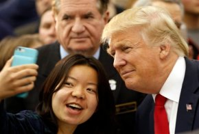 Trump reflects on Vietnam War, offers advice to youngpeople