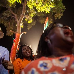 Burkina Faso celebrates newly elected president