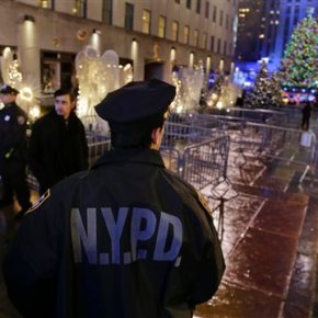 Heightened security amid Rockefeller Christmas Tree lighting