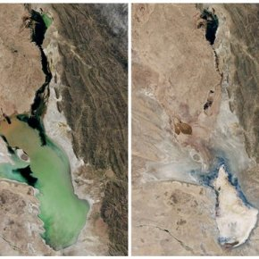 Disappearance of Bolivia's No. 2 lake aharbinger