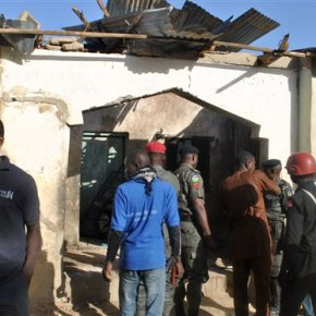 Suicide bombers kill 13 in Chibok home of kidnappedgirls
