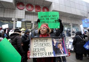 Detroit schools sue to try to stop teacher absences