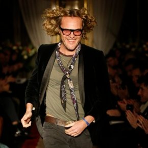 Peter Dundas makes Cavalli menswear premiere at Milan