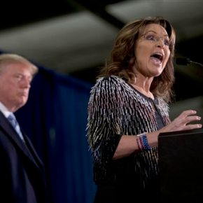 Sarah Palin: Trump 'would let our warriors do theirjob'