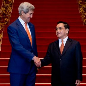 Laos assures US it will help counter Chinese assertiveness