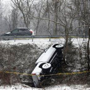 Feared weekend snowstorm arrives in US capitalarea