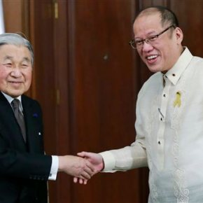 Philippine leader welcomes Japan's emperor as tiesblossom