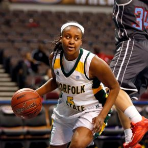 NSU Lady Spartan Amber Brown wakes up from coma, shows signs of improvement