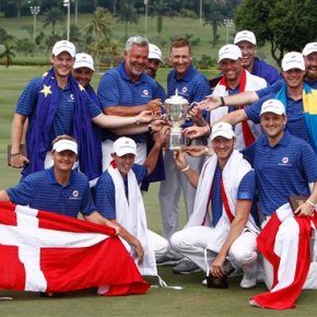 Europe dominates singles, boosts win margin in EurAsia Cup