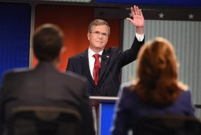 The Latest: Bush Attacks Clinton Over Email Investigation